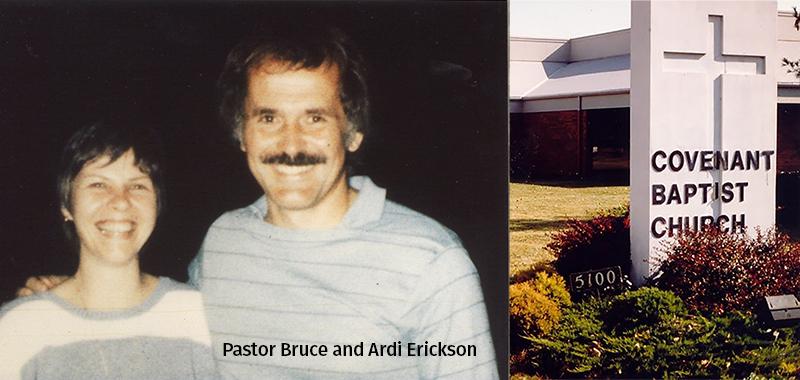 Bruce and Ardi Erickson